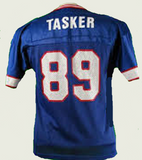 Steve Tasker Buffalo Bills Throwback Football Jersey