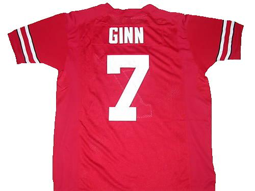Ted Ginn Ohio State Buckeyes College Football Jersey