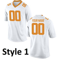 Tennessee Volunteers Style Customizable College Football Jersey