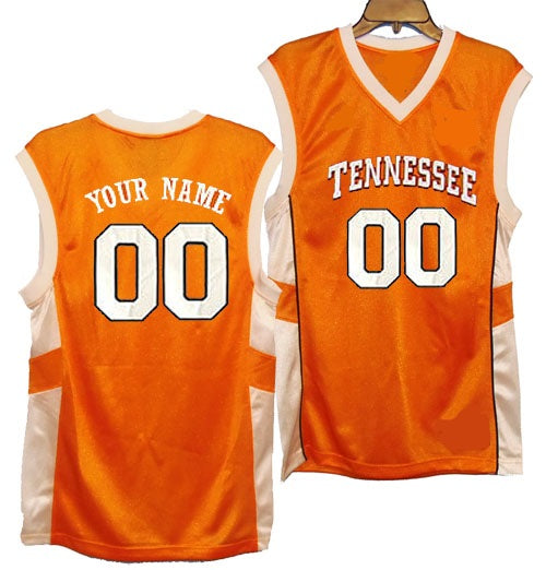 3abe99ab537 Tennessee Volunteers Style Customizable Basketball Jersey – Best ...