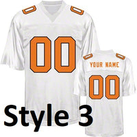 Tennessee Volunteers Style Customizable College Jersey