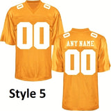 Tennessee Volunteers Customizable College Football Jersey