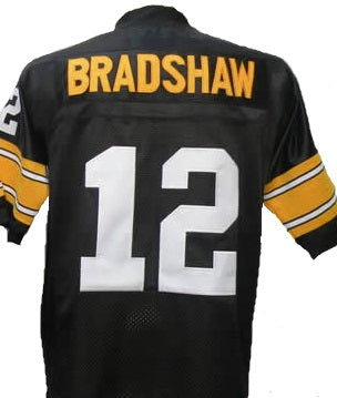 Terry Bradshaw Pittsburgh Steelers Throwback Football Jersey