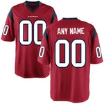 Houston Texans Customizable Pro Style Football Jersey