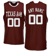 Texas A&M Aggies Customizable Basketball Jersey