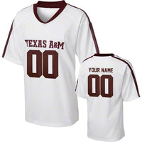 Texas A&M Aggies Style Customizable Football Jersey