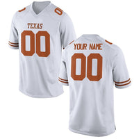 Texas Longhorns Style Customizable Jersey