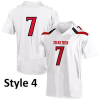 Texas Tech Red Raiders Customizable College Football Jersey