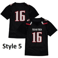 Texas Tech Red Raiders Style Customizable Football Jersey