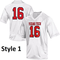 Texas Tech Red Raiders Style Customizable College Football Jersey