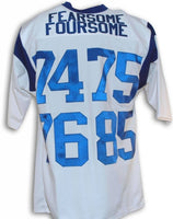 Fearsome Foursome Los Angeles Rams Throwback Football Jersey