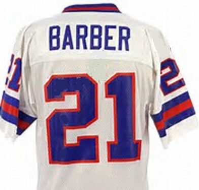 Tiki Barber New York Giants Throwback Football Jersey
