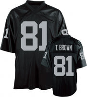 Tim Brown Oakland Raiders Throwback Jersey