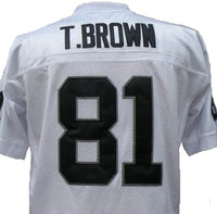 Tim Brown Oakland Raiders Throwback Football Jersey
