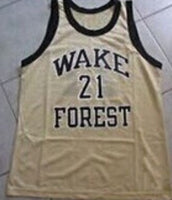 Tim Duncan Wake Forest Demon Deacons Jersey