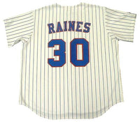 Tim Raines Montreal Expos Home Pinstripe Jersey