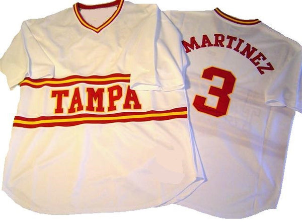 Tito Martinez Tampa Spartans Throwback Baseball Jersey
