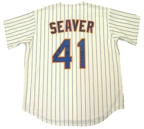 Tom Seaver New York Mets Home Throwback Jersey
