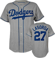 Tommy Lasorda Los Angeles Dodgers Throwback Jersey