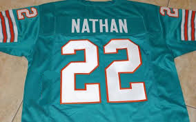 new style 76815 f6757 Tony Nathan Miami Dolphins Throwback Jersey