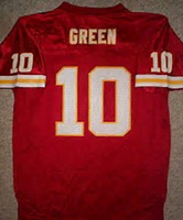quality design eb047 8d140 Trent Green Kansas City Chiefs Throwback Football Jersey