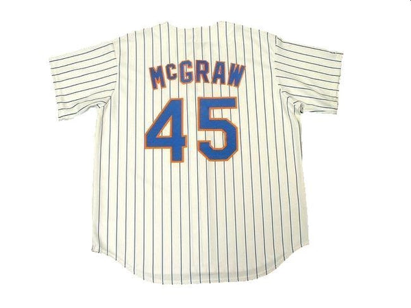 Tug McGraw New York Mets Home Jersey