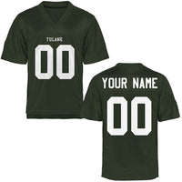 Tulane Green Wave Style Customizable Football Jersey
