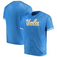 Customizable UCLA Bruins College Style Baseball Jersey