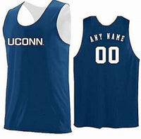 Connecticut Huskies Customizable College Basketball Jersey