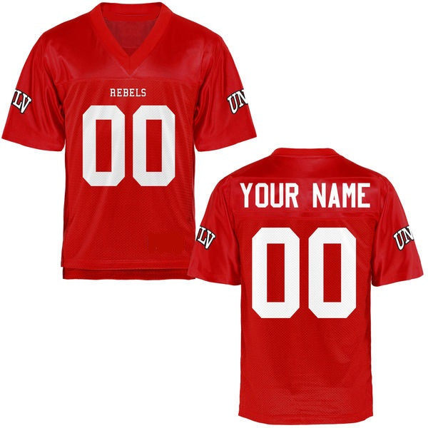 Customizable UNLV Rebels Style Football Jersey