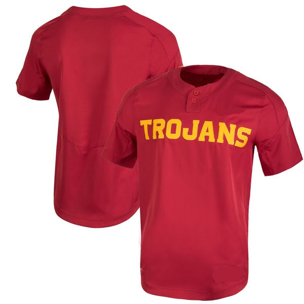 USC Trojans Customizable College Baseball Jersey