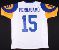 Vince Ferragamo Los Angeles Rams Throwback Jersey