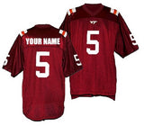 Virginia Tech Hokies Style Customizable Football Jersey