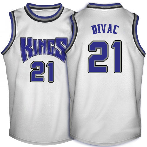 Vlad Divac Sacramento Kings Throwback Basketball Jersey