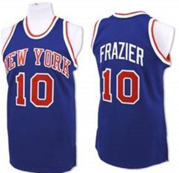 Walt Frazier New York Knicks Throwback Basketball Jersey