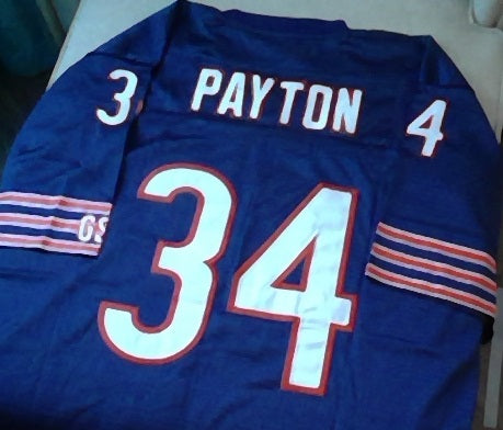 Walter Payton Chicago Bears Football Jersey (In-Stock-Closeout) Size 3XL/56 Inch Chest