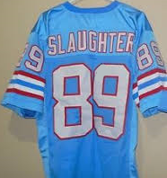 Webster Slaughter Houston Oilers Throwback Football Jersey
