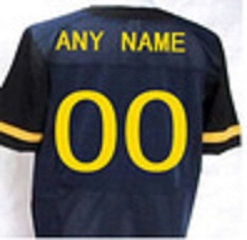 West Virginia Mountaineers Customizable Football Jersey