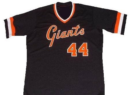 cheap for discount 1bbbf ac2bd willie mccovey jersey number