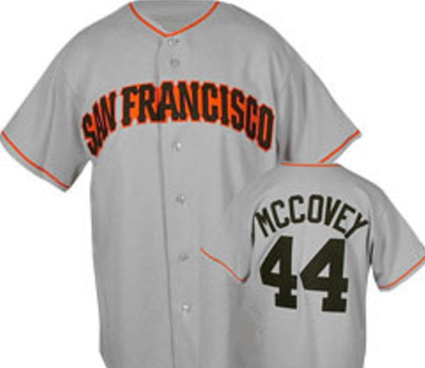 Willie McCovey San Francisco Giants Throwback Jersey