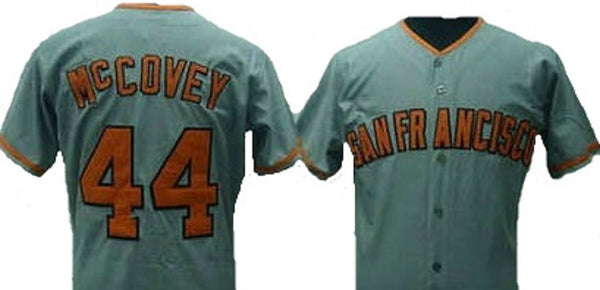 Willie McCovey San Francisco Giants Throwback Road Jersey