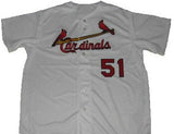 Willie McGee St. Louis Cardinals Jersey