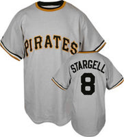 Willie Stargell Pittsburgh Pirates Throwback Baseball Jersey