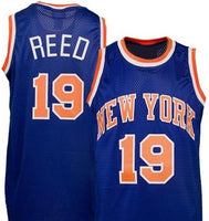 Willis Reed New York Knicks throwback basketball jersey