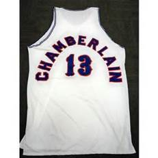 detailed look 482a7 f77a5 Wilt Chamberlain Kansas Jayhawks College Basketball Throwback Jersey