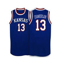 detailed look 7d23b a3e1f Wilt Chamberlain Kansas Jayhawks College Basketball Throwback Jersey