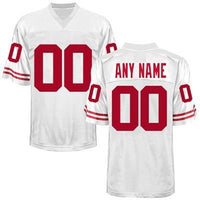Wisconsin Badgers Style Customizable Football Jersey
