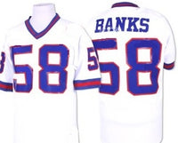 Carl Banks New York Giants Throwback Jersey