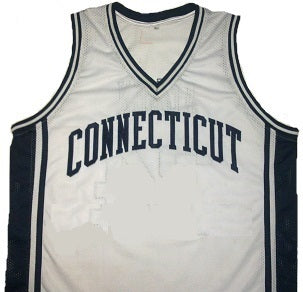Customizable Connecticut (UCONN) Huskies College Style Basketball Jersey