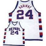 Mark Aguirre DePaul Custom Throwback College Jersey